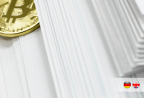 Bitcoins in der Bilanz | Bitcoin on the balance sheet | PayTechLaw