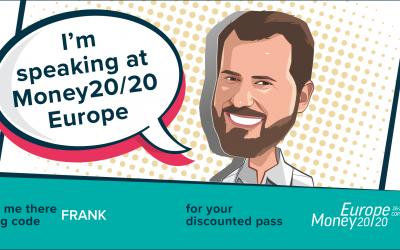 Frank Müller spricht auf Money20/20 in Kopenhagen