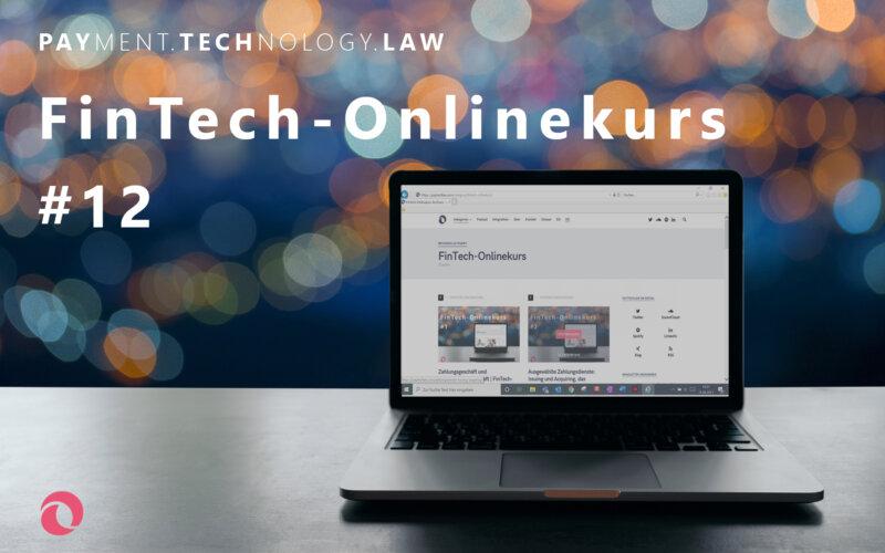 Einlagengeschäft | PayTechLaw | FinTech-Onlinekurs | sutthinon602