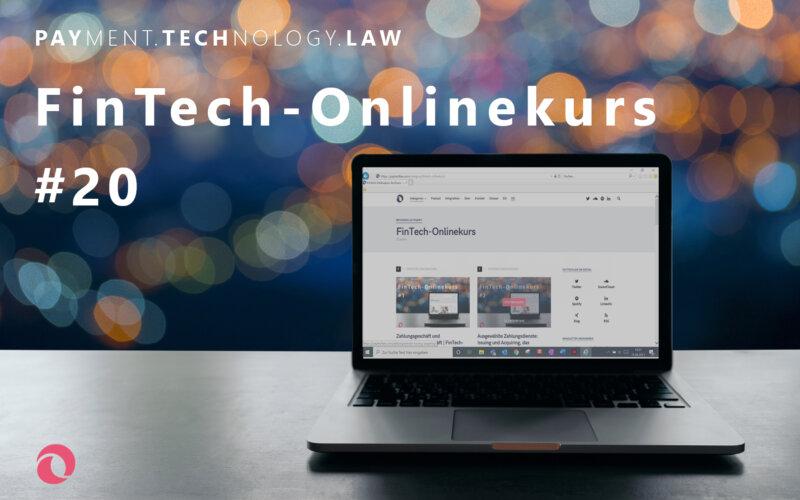 Pflichten nach dem Geldwäschegesetz | PayTechLaw | FinTech-Onlinekurs | sutthinon602