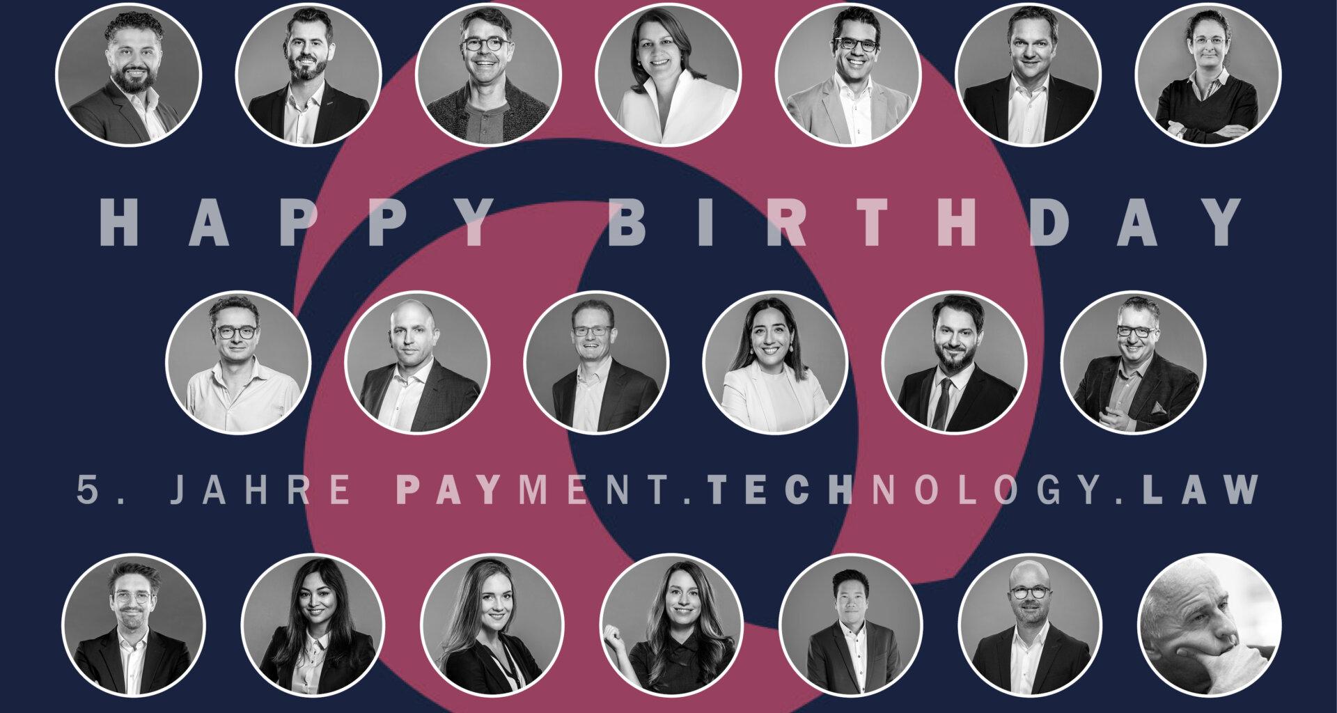 Happy Birthday - 5 years PayTechLaw