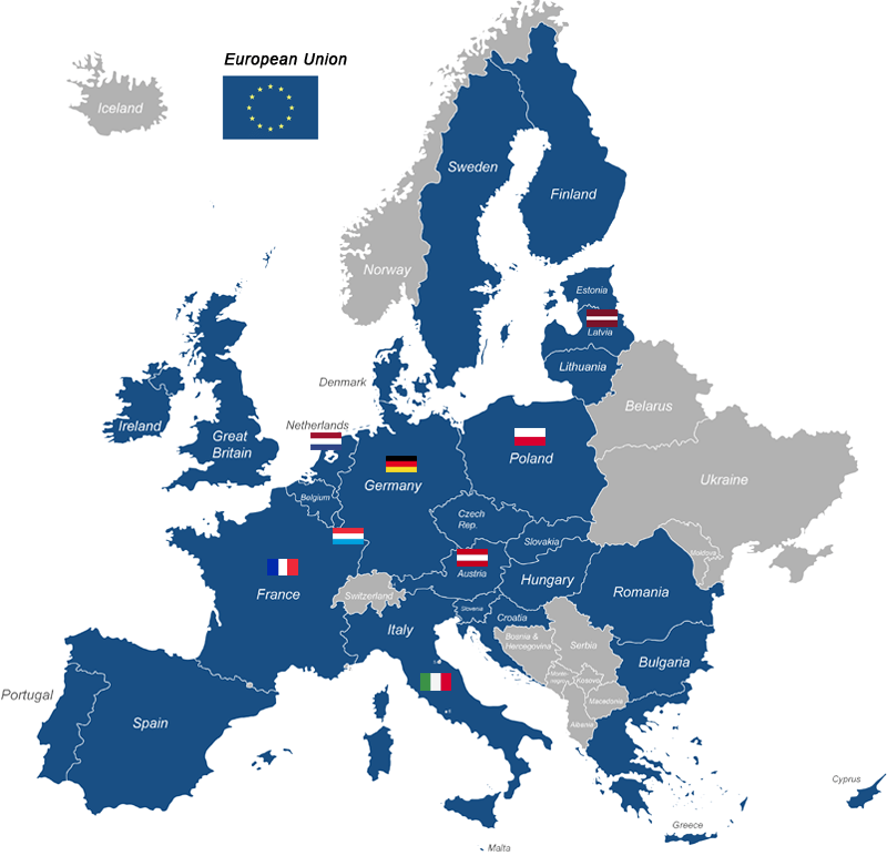 Infographic PSD2 Europe